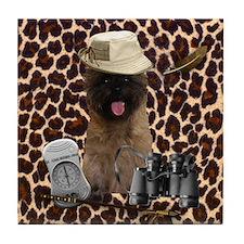 Safari Cairn Terrier Tile Coaster