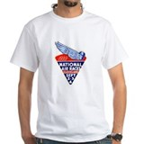 Air races Mens Classic White T-Shirts