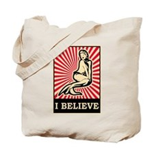 Pop Art Mermaid Tote Bag