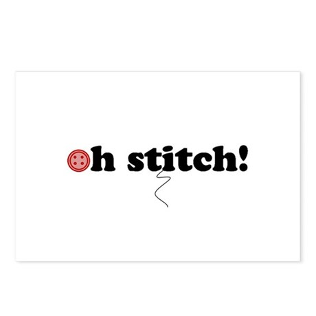 oh stitch! Postcards (Package of 8)