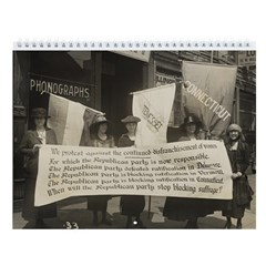Suffrage Wall Calendar #1