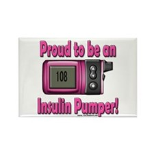 Proud to be Pumper (Girl) Rectangle Magnet (10 pac