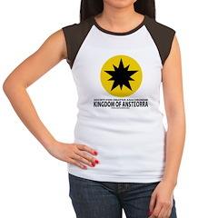 Ansteorra star with url Women's Cap Sleeve T-Shirt