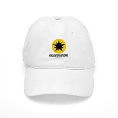Ansteorra star with url Baseball Cap