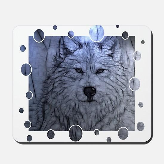 Gray Wolf Mousepad