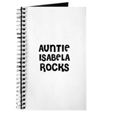 AUNTIE ISABELA ROCKS Journal
