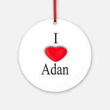 Adan Ornament (Round)