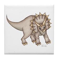 Triceratops Tile Coaster
