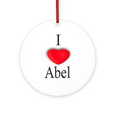 Abel Ornament (Round)