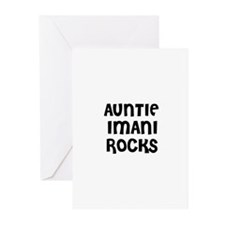 AUNTIE IMANI ROCKS Greeting Cards (Pk of 10)