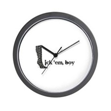 Unique Kinky Wall Clock