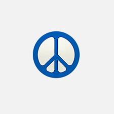 Blue CND logo Mini Button