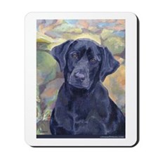Sweet Black Labs Mousepad