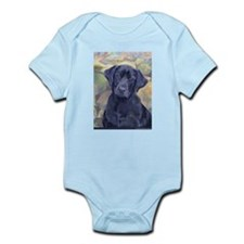 Sweet Black Labs Infant Creeper