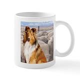 Shetland sheepdog Standard Mugs (11 Oz)