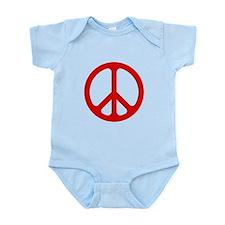 Red CND logo Infant Bodysuit