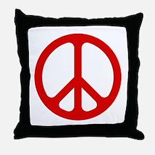 Red CND logo Throw Pillow