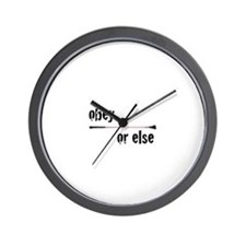 Funny Mistress Wall Clock