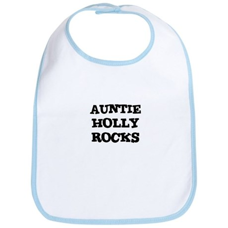 AUNTIE HOLLY ROCKS Bib