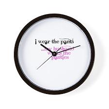 Unique Mistress Wall Clock