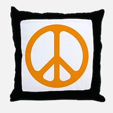 Orange CND logo Throw Pillow