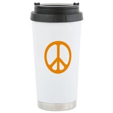 Orange CND logo Travel Coffee Mug