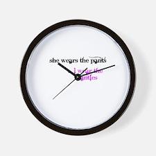 Unique Submissive Wall Clock