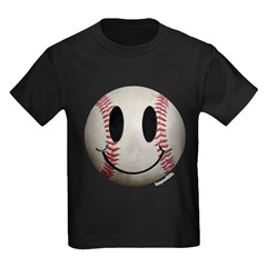 Baseball Smiley T