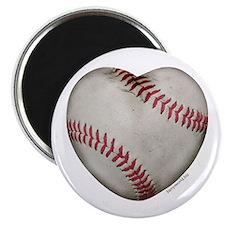"""Baseball Love 2.25"""" Magnet (10 pack)"""