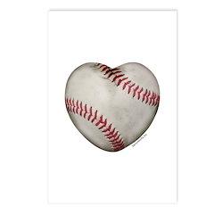 Baseball Love Postcards (Package of 8)