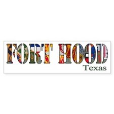 Fort Hood Bumper Bumper Sticker