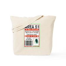 Cute Area 51 Tote Bag