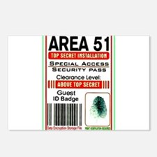 Cute Area 51 Postcards (Package of 8)