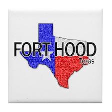 Fort Hood 2 Tile Coaster