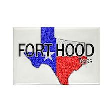 Fort Hood 2 Rectangle Magnet
