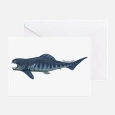 Dunkleosteus Greeting Card