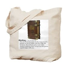 Blocking Tote Bag
