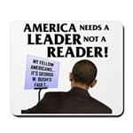 And Barack Obama - Reader not Mousepad