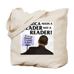 And Barack Obama - Reader not Tote Bag