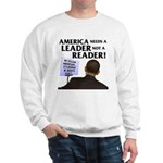 And Barack Obama - Reader not Sweatshirt