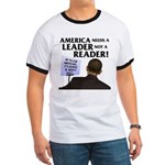 And Barack Obama - Reader not Ringer T