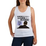 And Barack Obama - Reader not Women's Tank Top