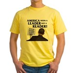 And Barack Obama - Reader not Yellow T-Shirt