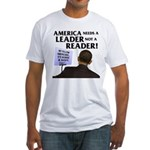 And Barack Obama - Reader not Fitted T-Shirt