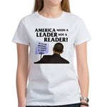And Barack Obama - Reader not Women's T-Shirt