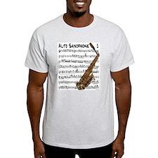 Lead Alto Ash Grey T-Shirt