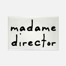 Madame Director Rectangle Magnet