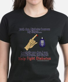 Give Diabetes the finger (self) Tee