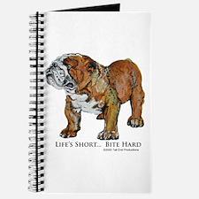Bulldogs Life Motto Journal