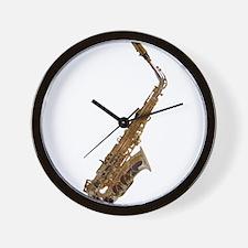Alto sax Wall Clock